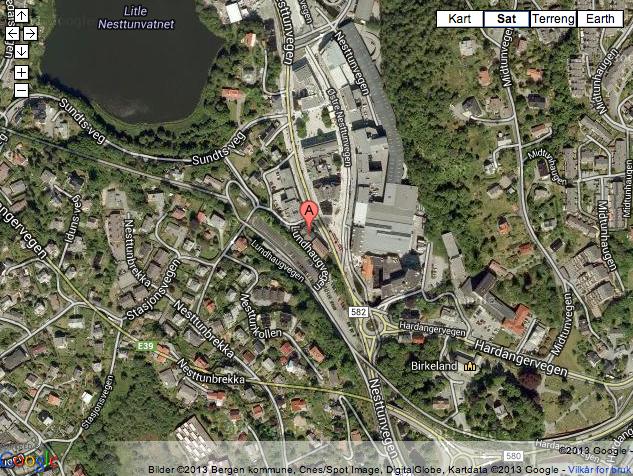 Galleri Skjold kart